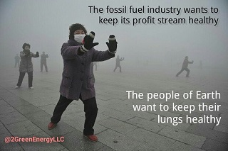 We Won't Be Winning Any Awards from the Petrochemical Industry