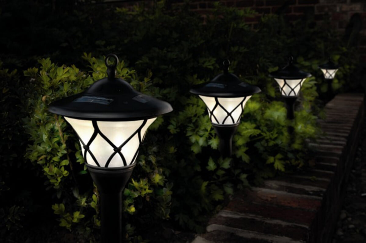 landscape steel solar dp outdoor pack lights lawn patio light amazon com pathway yard for lighting stainless sogrand