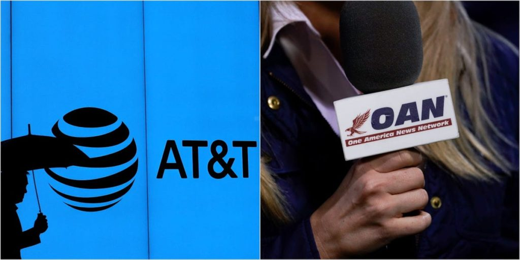 AT&T Created, Funded Ultra-Right Fake News TV Channel OAN (One America News)